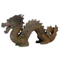 Lucky Chinese Dragon Statue